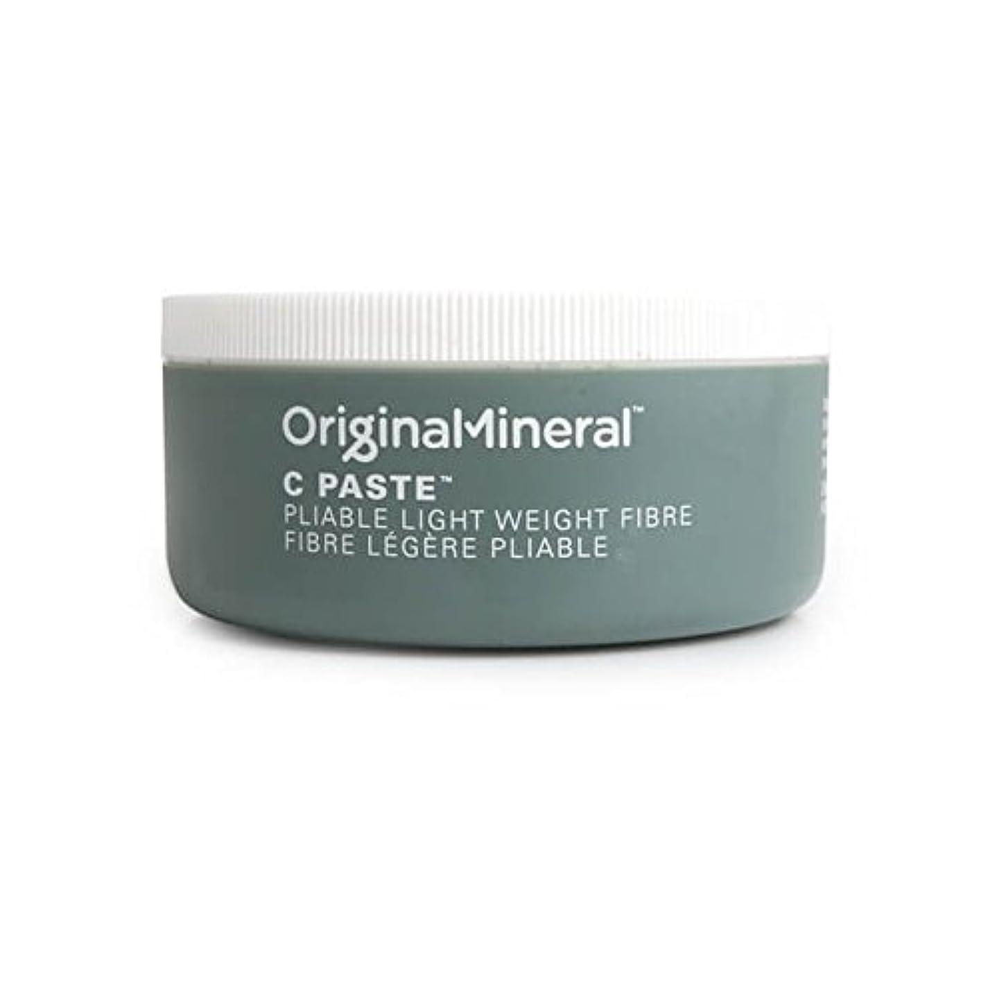 最初は流行しているアクセスOriginal & Mineral C-Paste Hair Wax (100G) - オリジナル&ミネラルの-ペーストヘアワックス(100グラム) [並行輸入品]