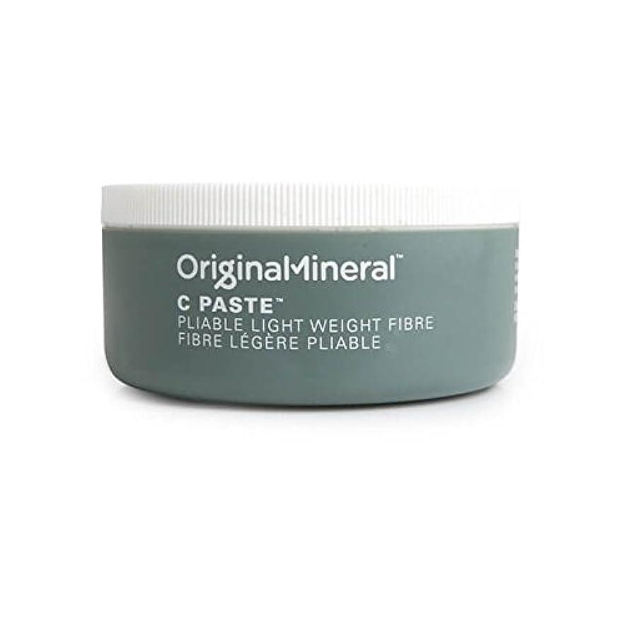 へこみ電圧デッキOriginal & Mineral C-Paste Hair Wax (100G) (Pack of 6) - オリジナル&ミネラルの-ペーストヘアワックス(100グラム) x6 [並行輸入品]