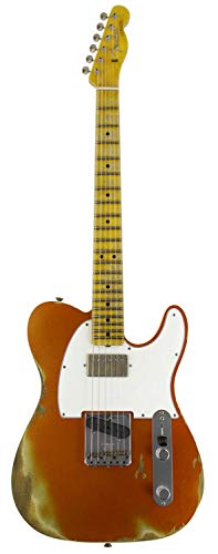 Fender Custom Shop フェンダー エレキギター Limited Edition 1965 HS Telecaster Custom -Heavy Relic- (Aged Candy Tangerine)