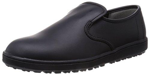 [ミドリ安全] 作業靴 耐滑 スリッポン H100N 黒 2...