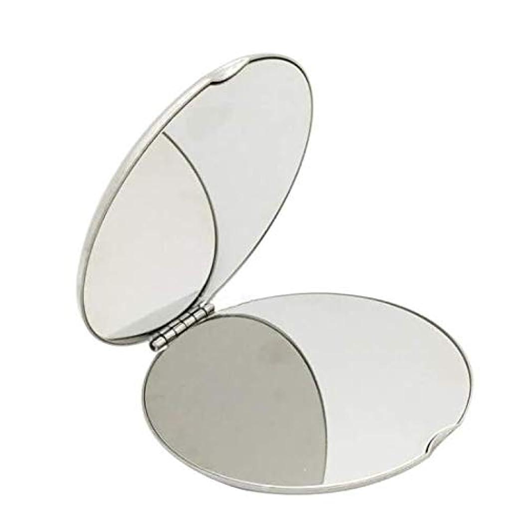 失う留まる耕す飛散防止化粧鏡ステンレス鋼 化粧鏡おすすめ 携帯用ミラー化粧用鏡(ラウンド)