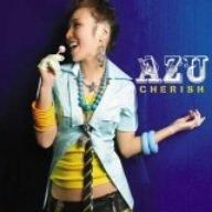 AZU「CHERISH」の歌詞を収録したCDジャケット画像