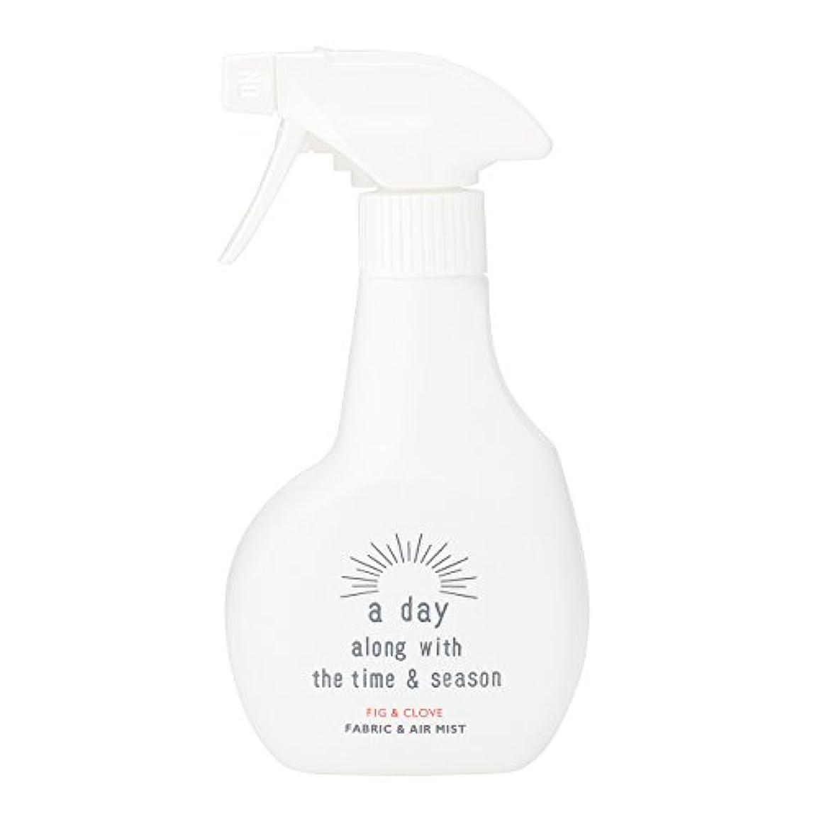 気分が良いうなり声ギャングアデイ(a day) ファブリック&エアミスト フィグ&クローブ 300ml(消臭?除菌スプレー 個性的でフルーティーなフィグにオリエンタルなクローブを組み合わせた香り)