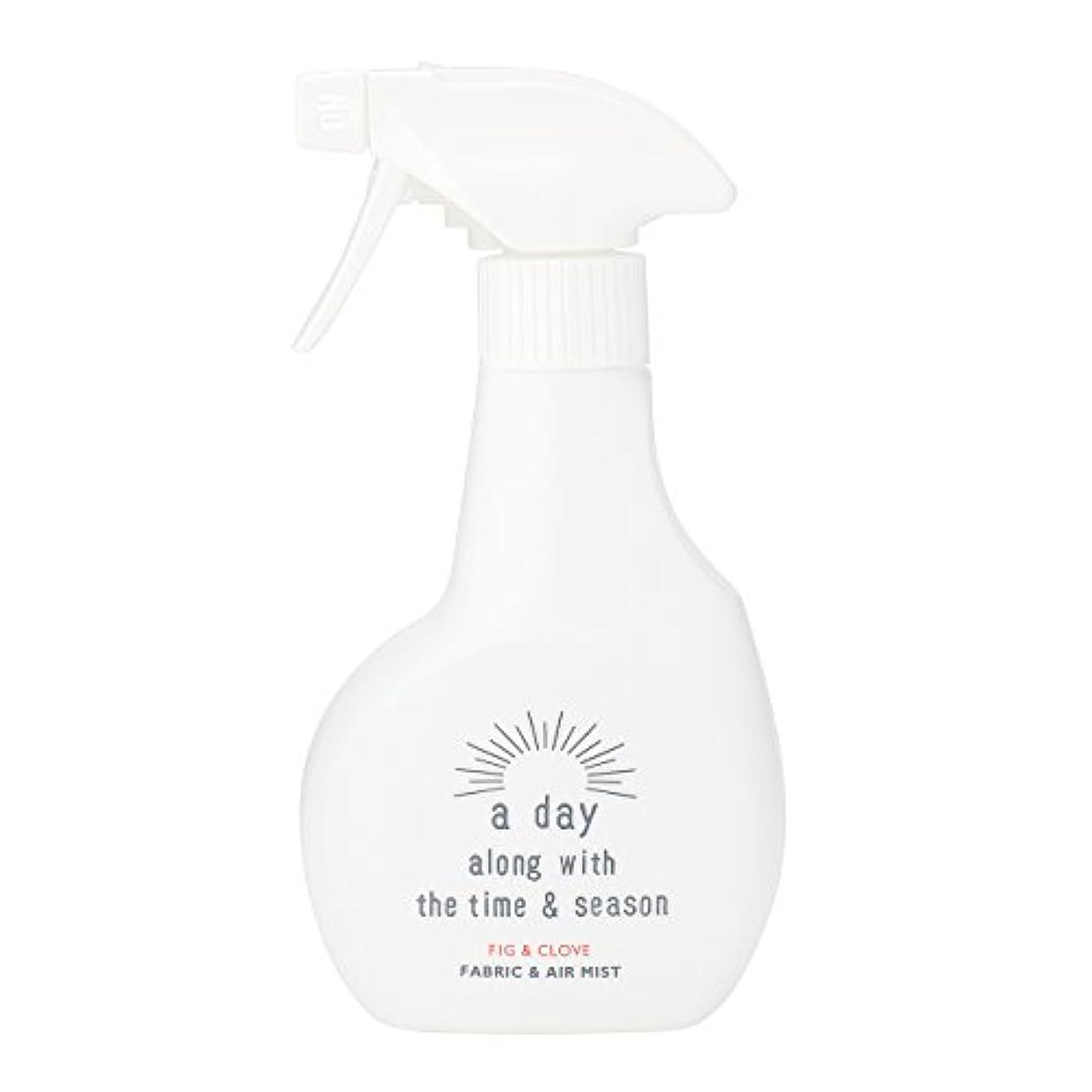 腹アライメントステージアデイ(a day) ファブリック&エアミスト フィグ&クローブ 300ml(消臭?除菌スプレー 個性的でフルーティーなフィグにオリエンタルなクローブを組み合わせた香り)