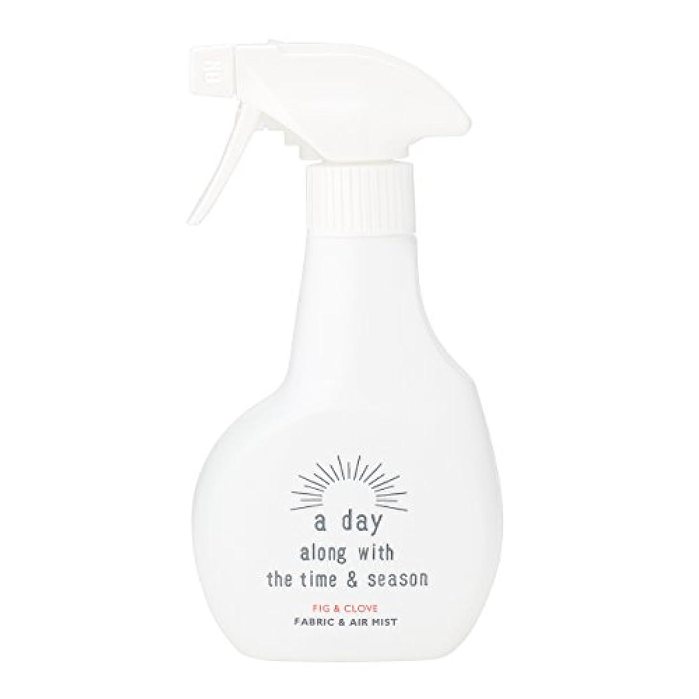 抑圧するトレイ区別するアデイ(a day) ファブリック&エアミスト フィグ&クローブ 300ml(消臭?除菌スプレー 個性的でフルーティーなフィグにオリエンタルなクローブを組み合わせた香り)