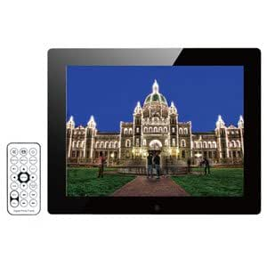 KEIAN デジタルフォトフレーム 15インチ ブラック KDPF15010N-BK