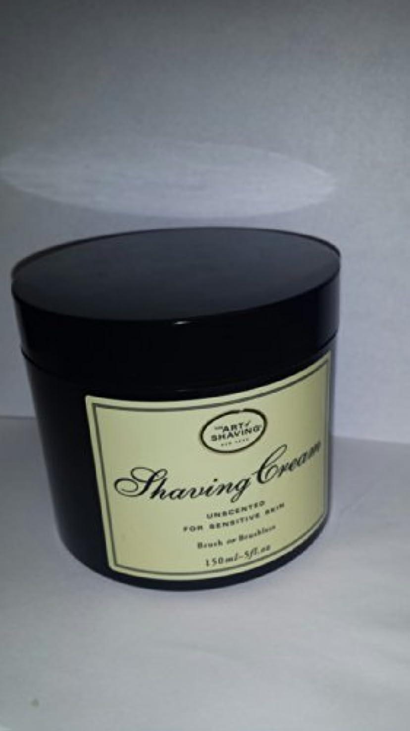 三十飲食店肝アートオブシェービング - シェービングクリーム - 無香料 ( 敏感肌用 ) - 150g/5oz