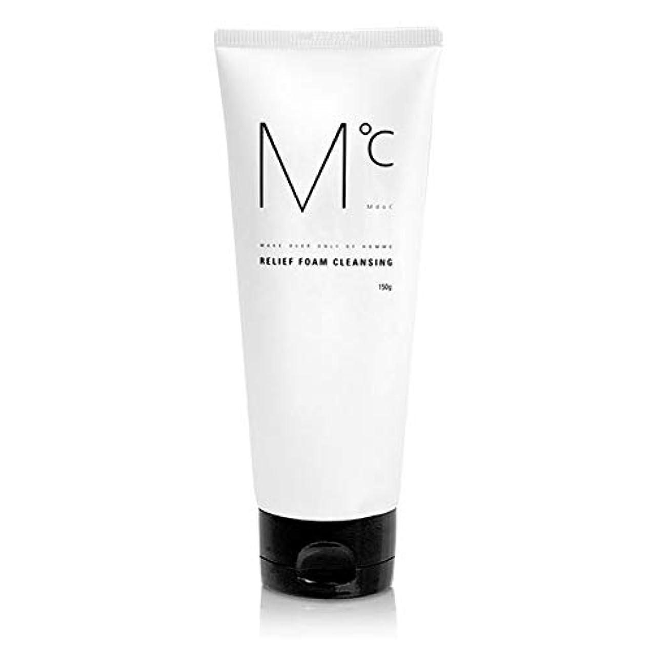 うまくやる()バタフライ存在M℃RELIEF FOAM CLEANSINGフォームクレンジング150g Men's男性KOREA化粧品MdoC[海外ジクソンプム]