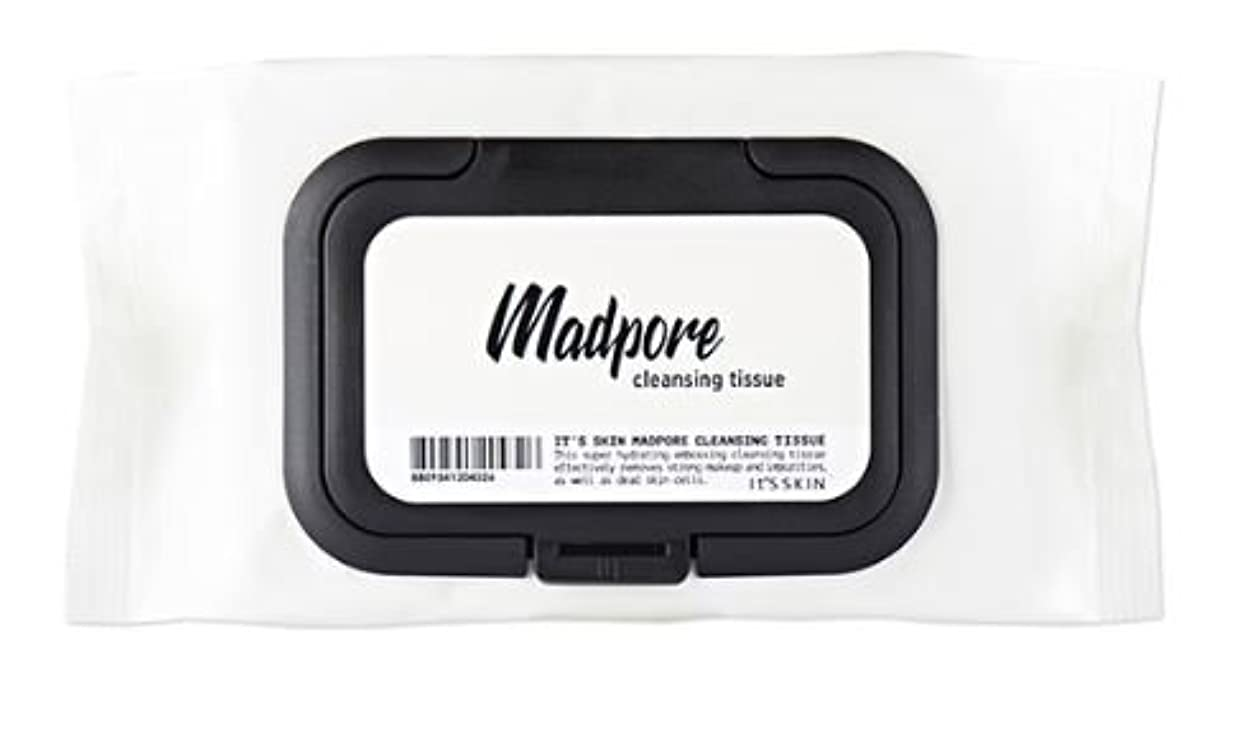 [It's skin] MAD PORE CLEASNING TISSUE 50ea [並行輸入品]