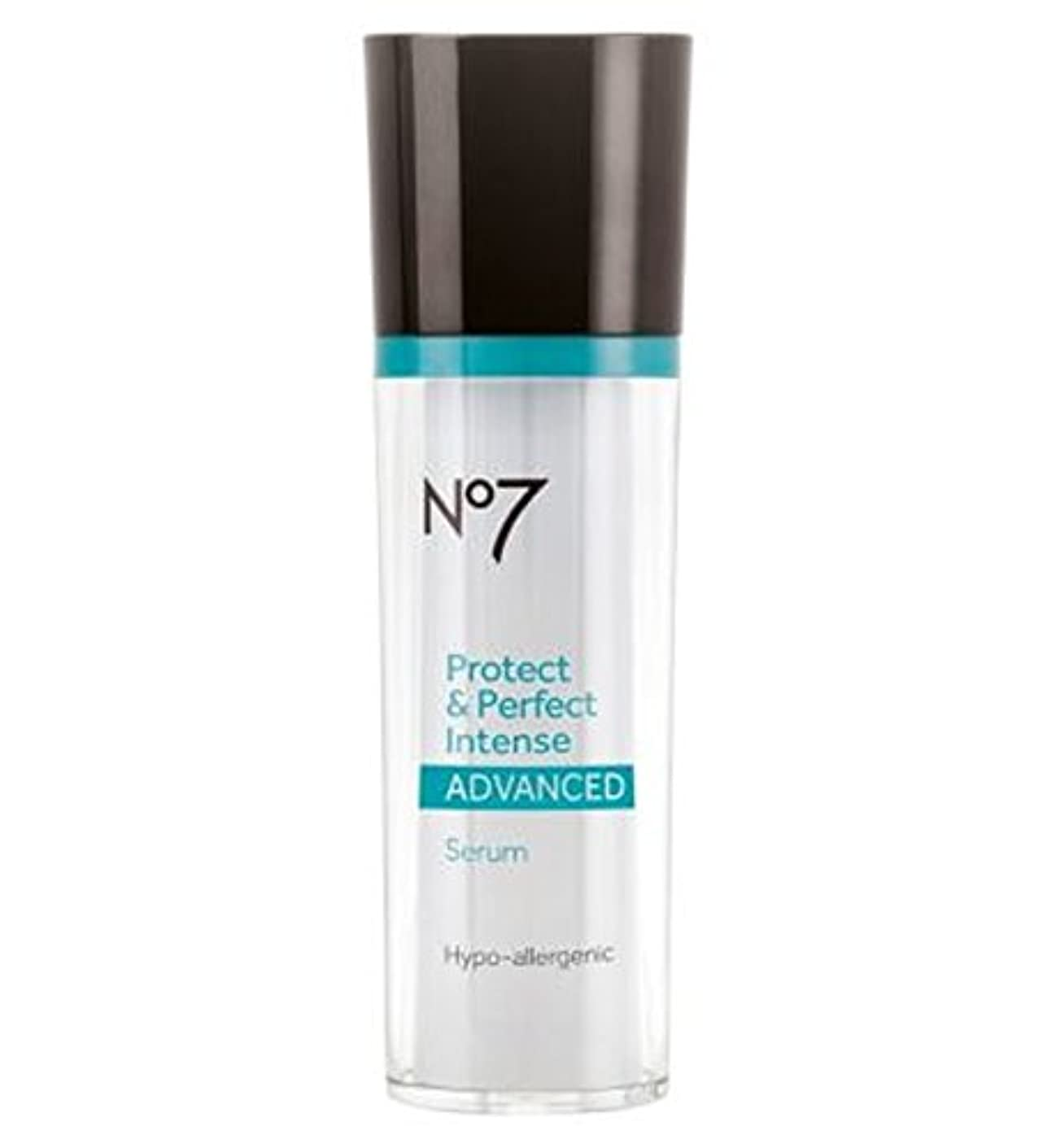 倫理的行商人ピケNo7 Protect & Perfect Intense ADVANCED Serum Pump 30ml - No7保護&完璧な強烈な高度な血清ポンプ30ミリリットル (No7) [並行輸入品]