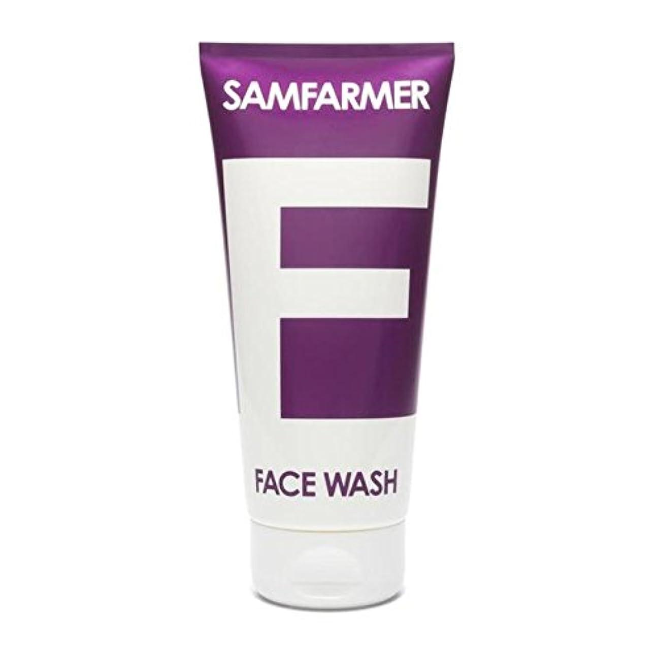 ぼろ野ウサギ割れ目SAMFARMER Unisex Face Wash 200ml (Pack of 6) - ユニセックスフェイスウォッシュ200ミリリットル x6 [並行輸入品]