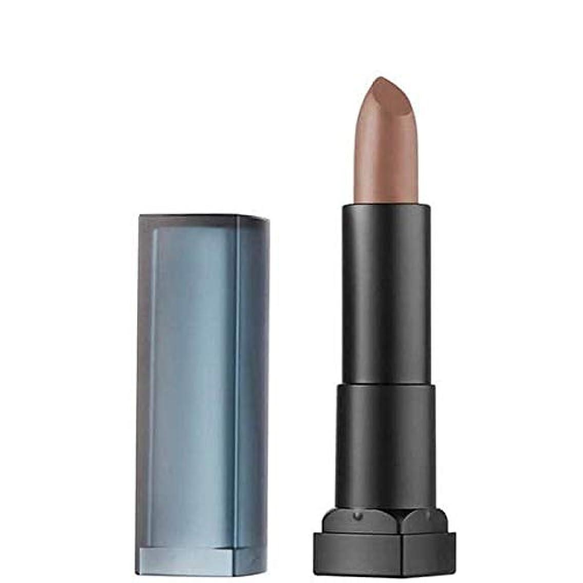 カプセル存在する負荷[Maybelline ] メイベリンカラーセンセーショナルなマット口紅15スモーキートープ - Maybelline Color Sensational Matte Lipstick 15 Smoky Taupe [並行輸入品]