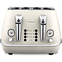 DeLonghi Distinta 4 Slice Toaster - CTI 4003W - White