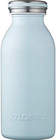 水筒 真空断熱 スクリュー式  マグ ボトル 0.35L ターコイズ mosh! (モッシュ! )