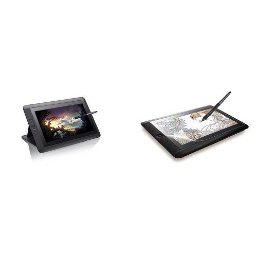 ワコム 液晶ペンタブレット 13.3フルHD液晶 Cintiq 13HD 【新型番】2015年7月モデル DTK-1301/K0 + エレコム 液晶保護フィルム Wacom Cintiq 13 HD/HD Touch/Cintiq Companion2用 ペーパーライク反射防止 13.3インチ TB-WC13FLAPL