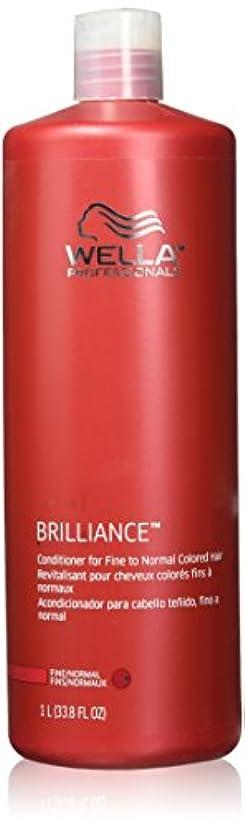 説明割り当てる介入するWella Professionals Brilliance Conditioner For Fine To Normal, Coloured Hair - 1 Litre