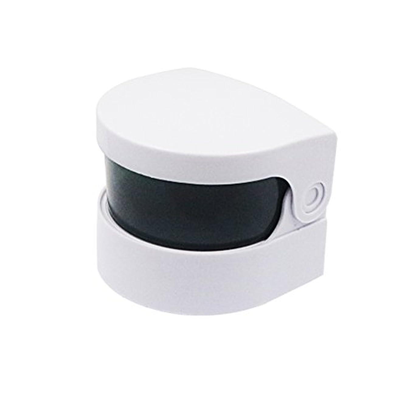 シェードダイバー測定可能Healifty 超音波クリーナー義歯クリーナーバスジュエリー時計用クリーニングマシンメガネコイン(ホワイト)