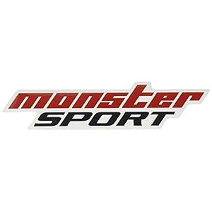 MONSTER SPORT NEWモンスタースポーツステッカー/ステッカー シール 小 スモール クリヤ レッド ダークグレー/896109-0000M