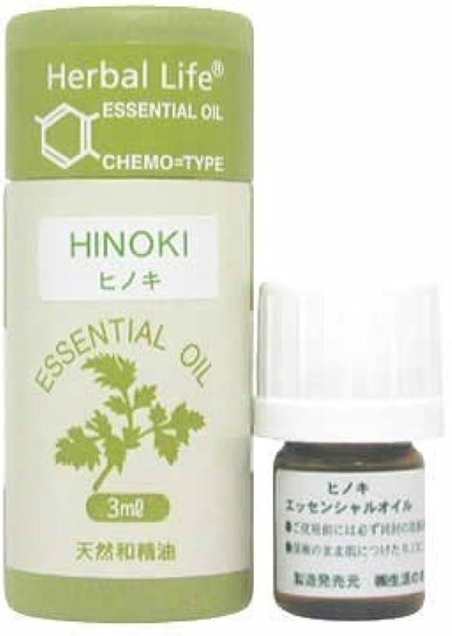木製マイナー肥料C和精油 ヒノキ3ml