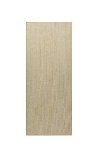 表札用檜材 天然木曽檜 柾目 縦掛けキーホール付き...