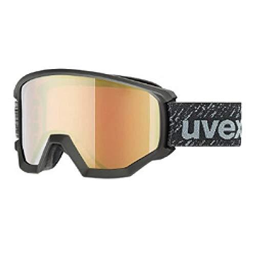 UVEX(ウベックス) ウベックス ゴーグル ミラーレンズ 18-19 /athletic FM ブラックマット 55.5.520.2030 スキーゴーグル uvex ゴーグル【C1】