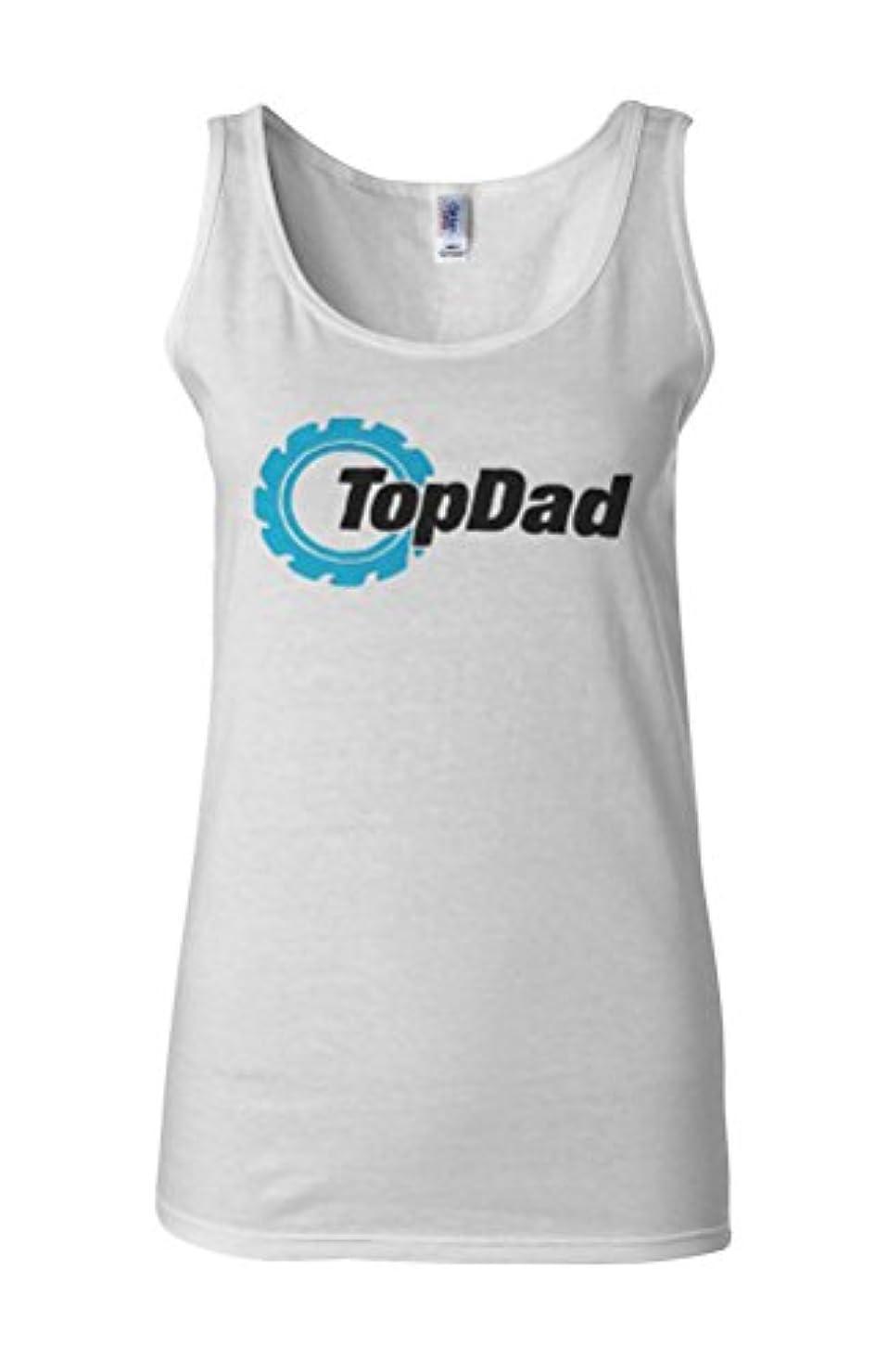 チップセンサー幻想的Top Dad Family Father`s Day Gift Novelty White Women Vest Tank Top