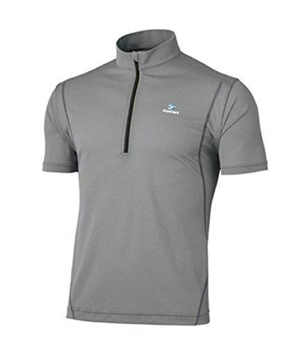 ファイントラック(finetrack) ドラウトフォースジップTシャツ AG FMM1102 メンズ M