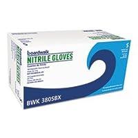 ボードウォーク汎用380sct使い捨てニトリル手袋、小型、ブルー、4ミル、1000/カートン