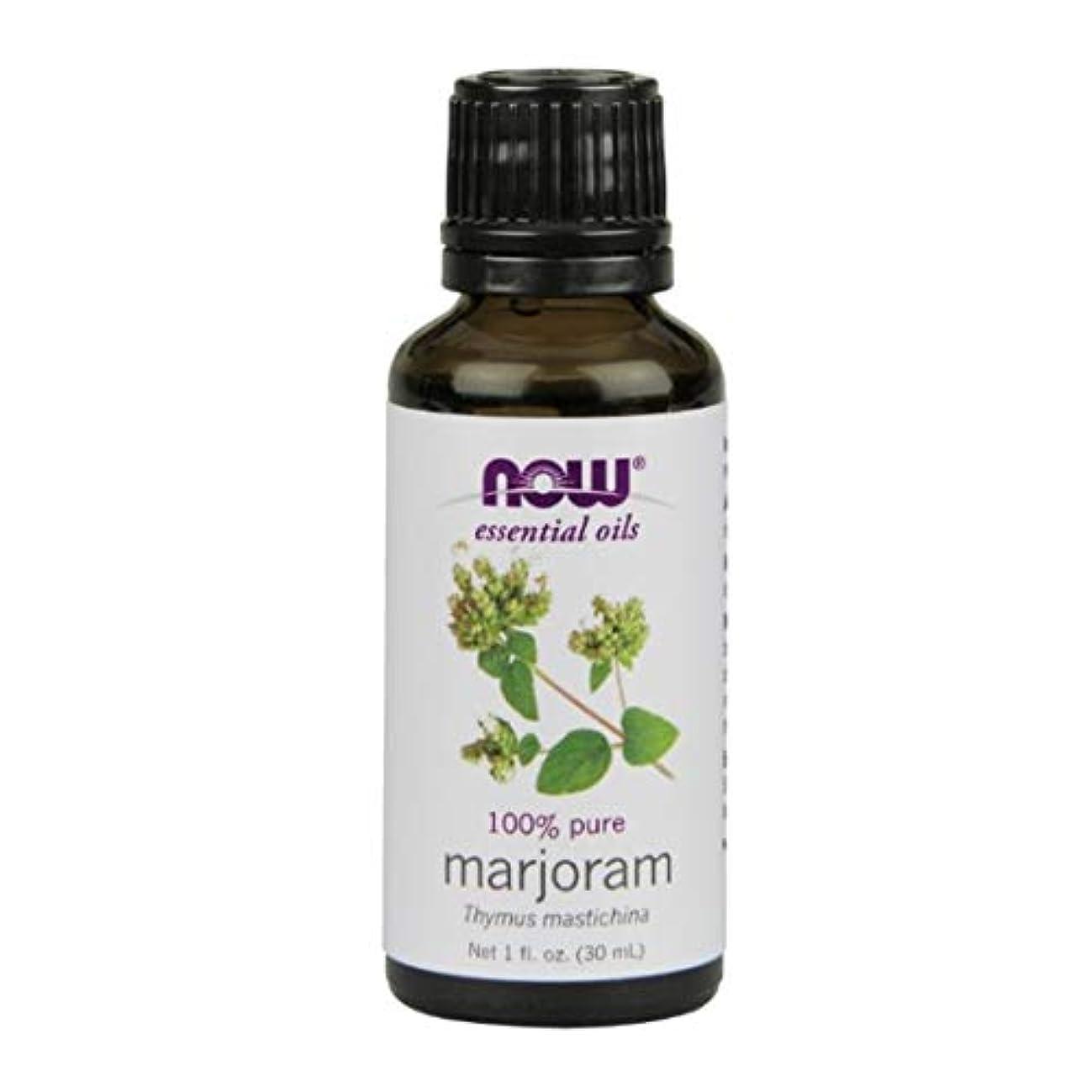 バッテリー繊維災害Now Foods Marjoram Oil 1 fl oz [並行輸入品]