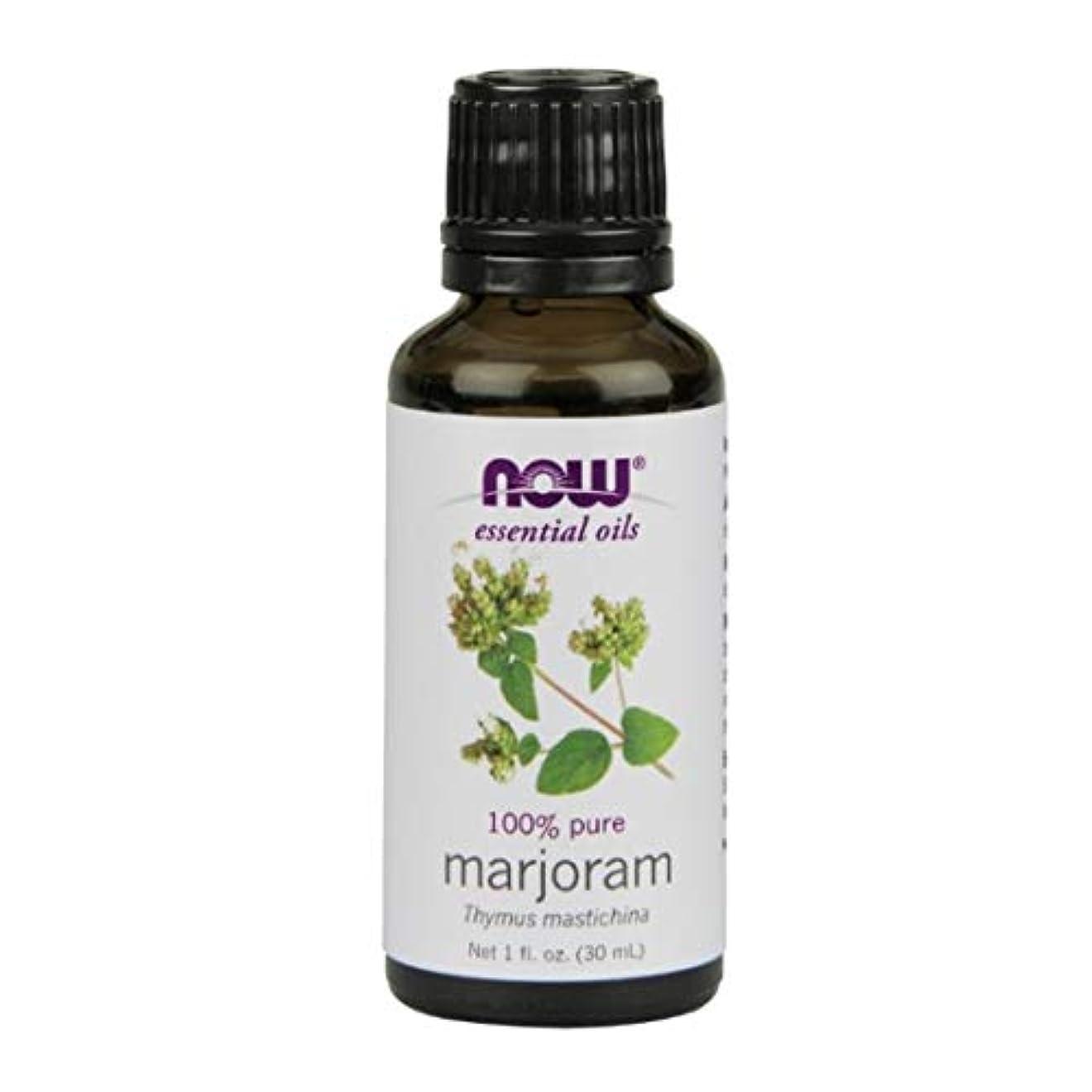 波紋プロフェッショナル未亡人Now Foods Marjoram Oil 1 fl oz [並行輸入品]