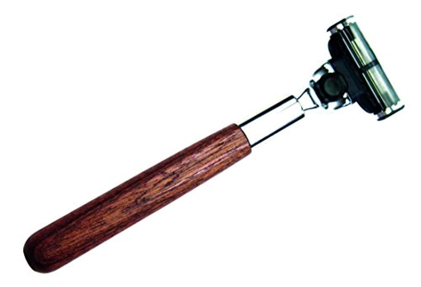 GOLDDACHS Razor, Cedar wood Handle