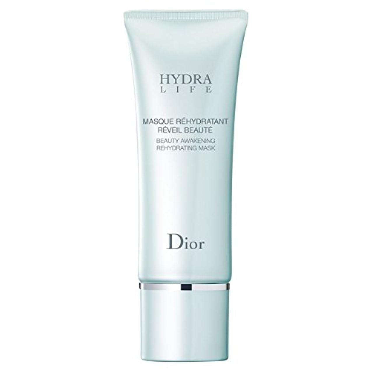 天井うなずく翻訳[Dior] マスク75ミリリットルを再水和ディオールヒドラ人生の美しさの目覚め - Dior Hydra Life Beauty Awakening Rehydrating Mask 75ml [並行輸入品]