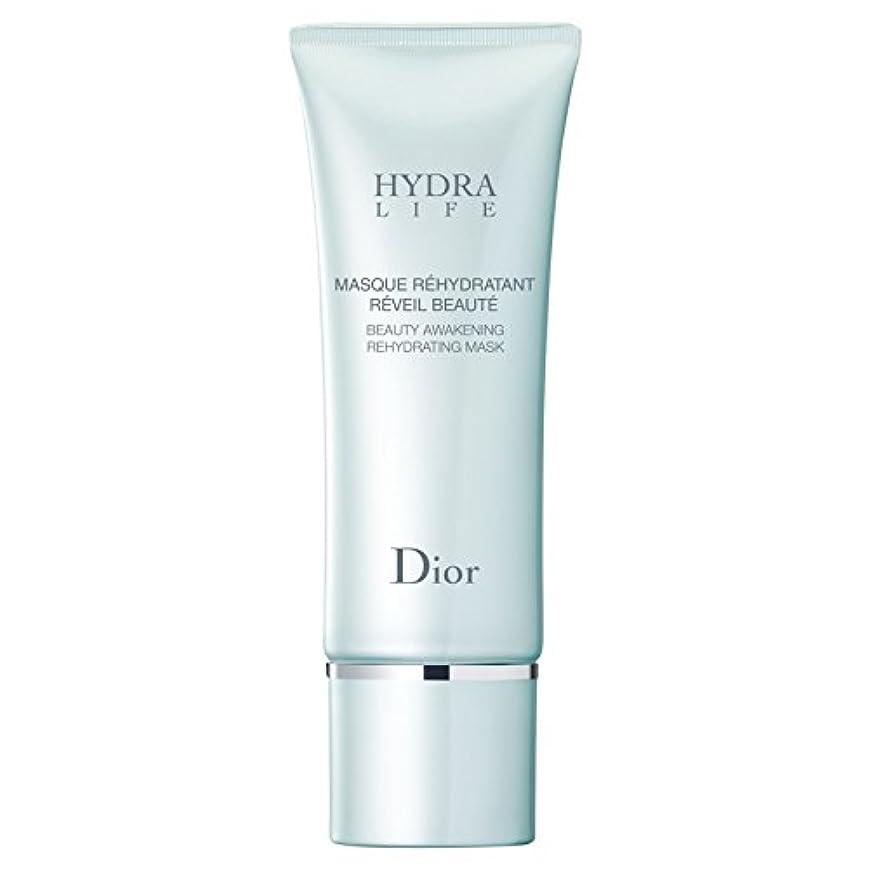 脅かす相談する溝[Dior] マスク75ミリリットルを再水和ディオールヒドラ人生の美しさの目覚め - Dior Hydra Life Beauty Awakening Rehydrating Mask 75ml [並行輸入品]