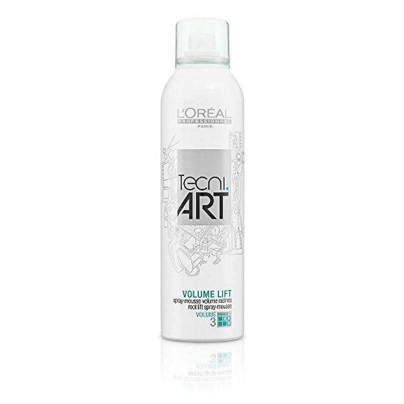 夕方扱うバースL'Oreal Tecni Art Volume Lift - Root Lift Spray - Mousse 250 ml [並行輸入品]