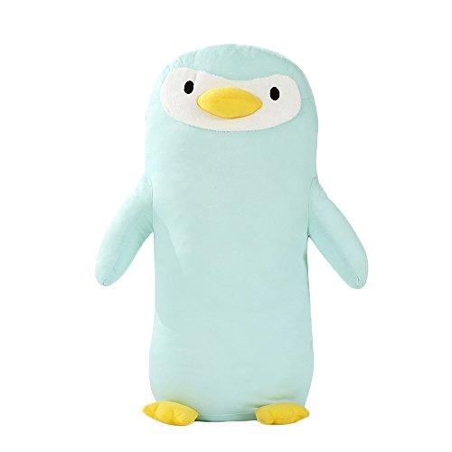 socompかわいい動物冷却スロー枕スーパーソフトハグ枕ボディ枕バッククッション漫画Pacify Stuffed Toy (ペンギン、Bear ) 18in グリーン