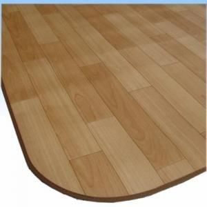RoomClip商品情報 - ダイニングラグ(クッションフロアーラグ):木目調(ナチュラル色) 182x230cm【日本製】