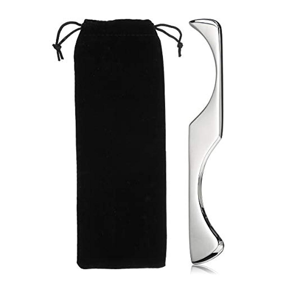 チーフ安いですナイトスポットAJACK 不規則な形Guasha マニュアルマッサージャー ステンレス鋼 Gua Shaスクレーピングボード ボディツール