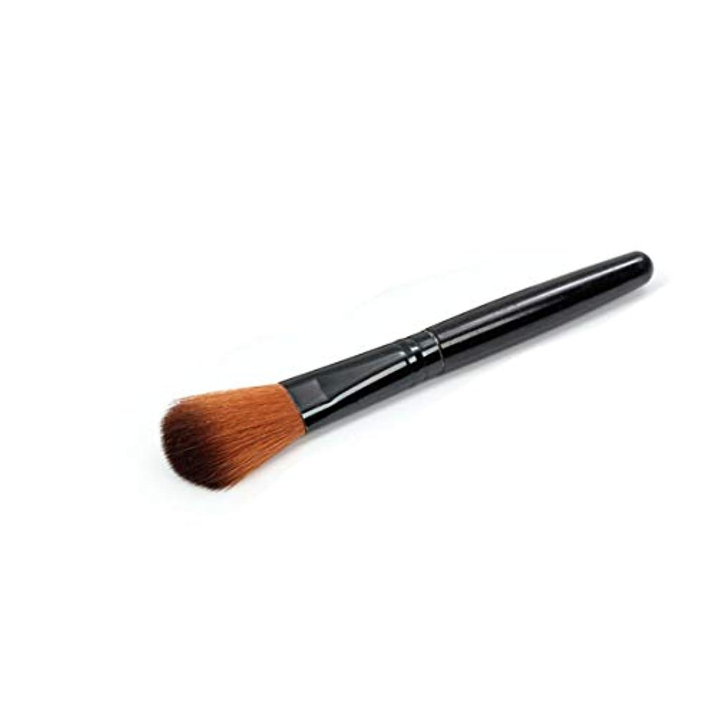 明快収入狭いIntercoreyの大きい粉のブラシの専門の粉の構造のブラシの単一のブラシの表面赤面の美は化粧品用具を構成します