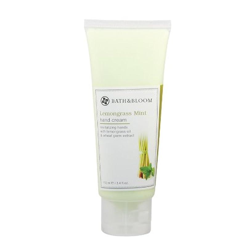 ルネッサンスハロウィン謝罪BATH&BLOOM レモングラスミント ハンドクリーム 100g