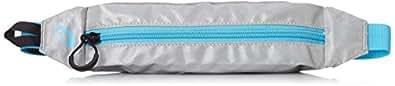 [アシックス] ウエストバッグ SHOULDERPACK EBM506 1041シルバー/アクアリウム S