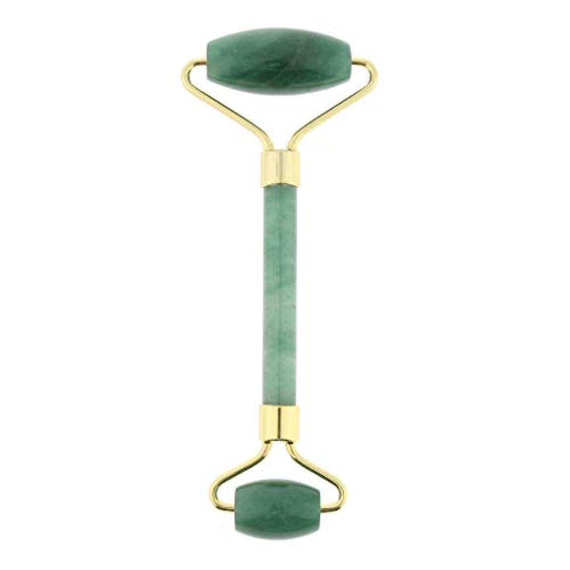 境界火薬高さD DOLITY マッサージローラー ストーン 手動マッサージャー 両端 4色選べ - 緑