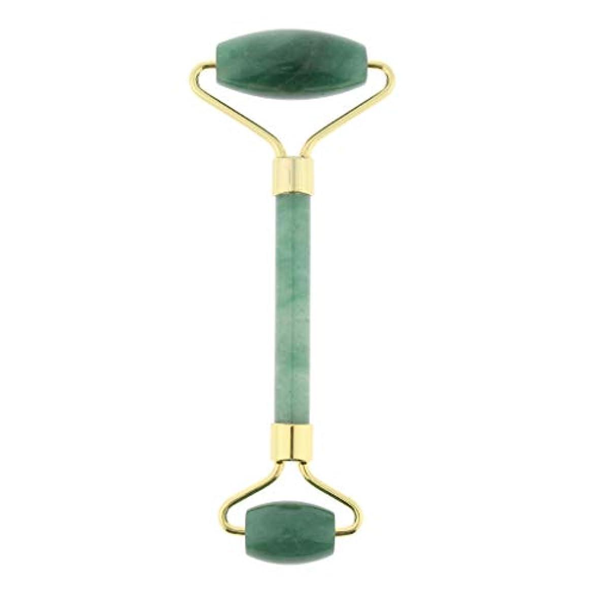 ジュース故障中こどもの宮殿マッサージローラー ストーン 手動マッサージャー 両端 4色選べ - 緑