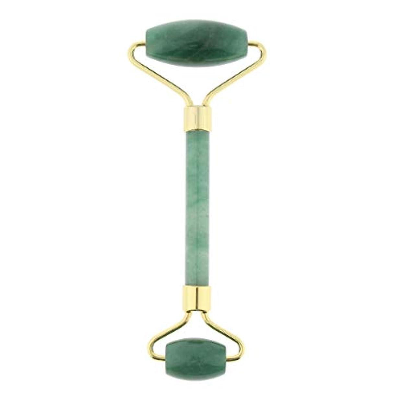 分子ゴシップランデブーD DOLITY マッサージローラー ストーン 手動マッサージャー 両端 4色選べ - 緑