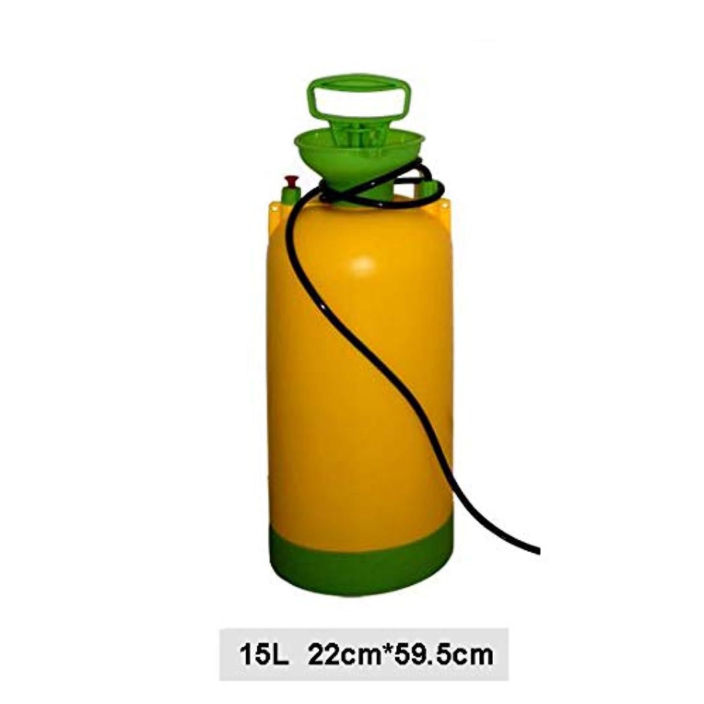 繊細追加くびれた屋外の手圧力シャワー、バケツのインフレータのハンドルの取り外し可能なホース圧力携帯用