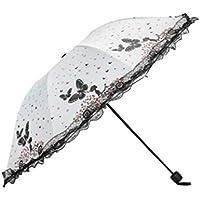 【Goat Brand】 折りたたみ傘 日傘 折りたたみ 軽量 晴雨兼用 uvカット 遮光 遮熱 撥水 ホワイト