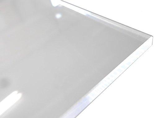アクリル板 (押出し) 透明 - 板厚 (5mm) 350mm × 300mm