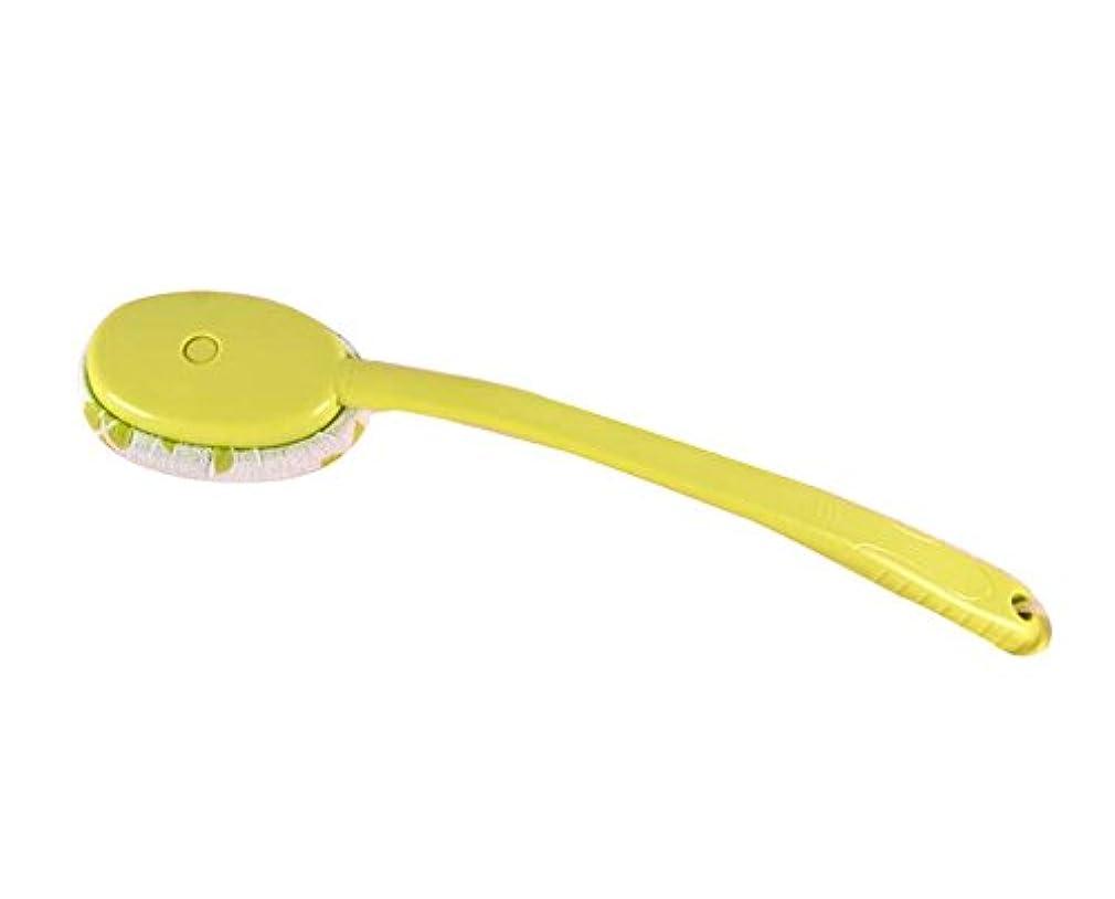 測るもっと補充ラビングバスタオルバスブラシクリエイティブロングハンドルラビングブラシ、グリーン