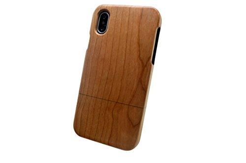 iPhone X アイフォン テン 天然 木製 ケース カバ...