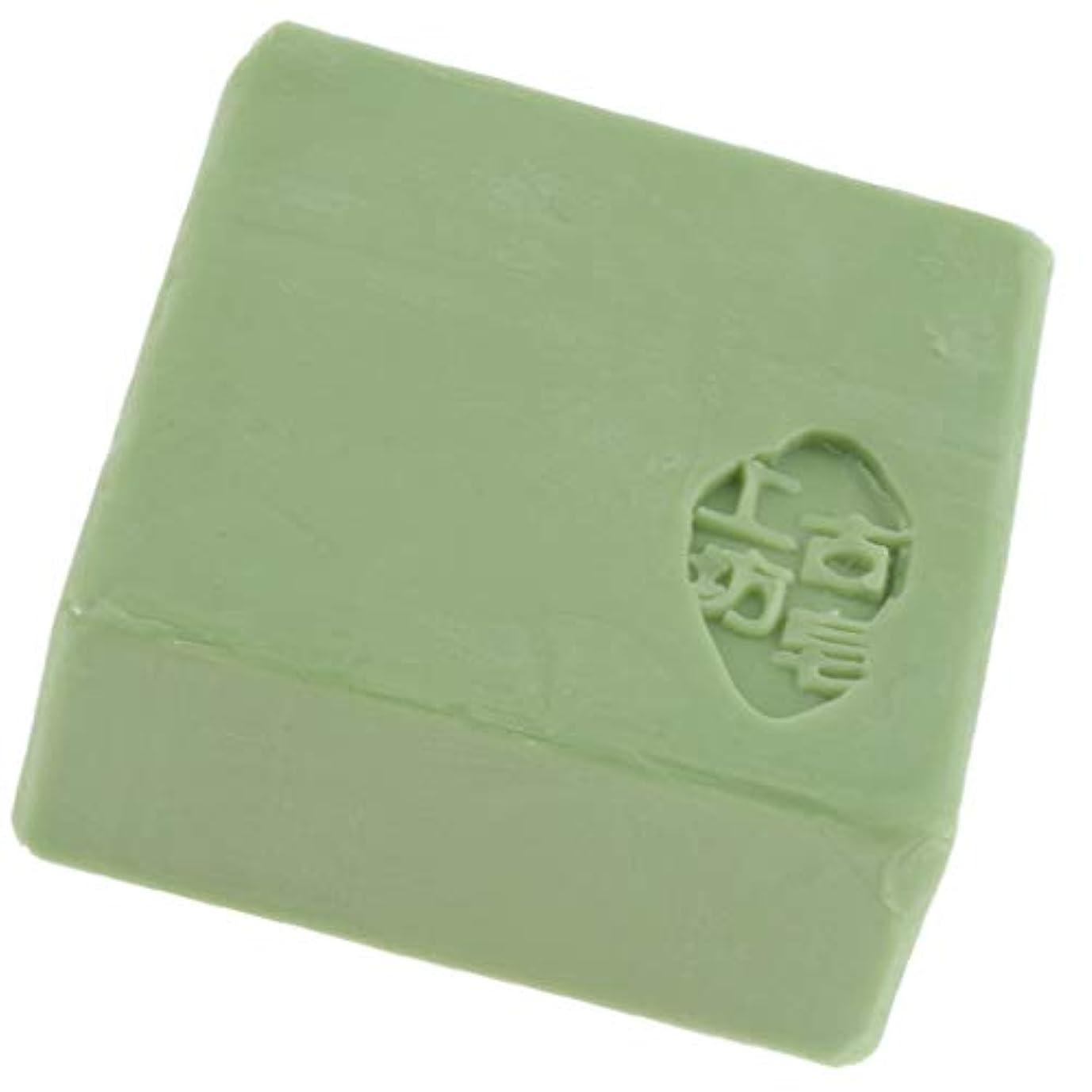 災害労苦彼自身Baoblaze バス スキンケア フェイス ボディソープ 石鹸 保湿 好意 全3色 - 緑