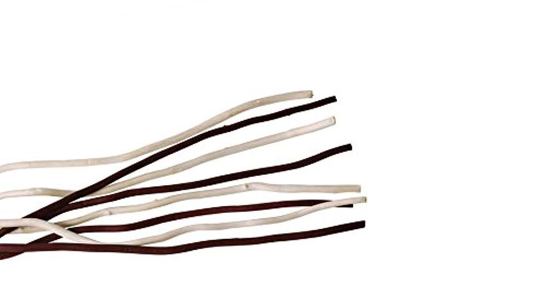産地ブラウザ文明化するmercyu(メルシーユー) mercyu 交換用 リード 柳 45cm 10本入 2色混合 MRUS-RWOWM (WB(ホワイト&ブラウン))